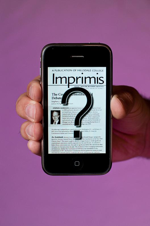 Imprimis for iPhone
